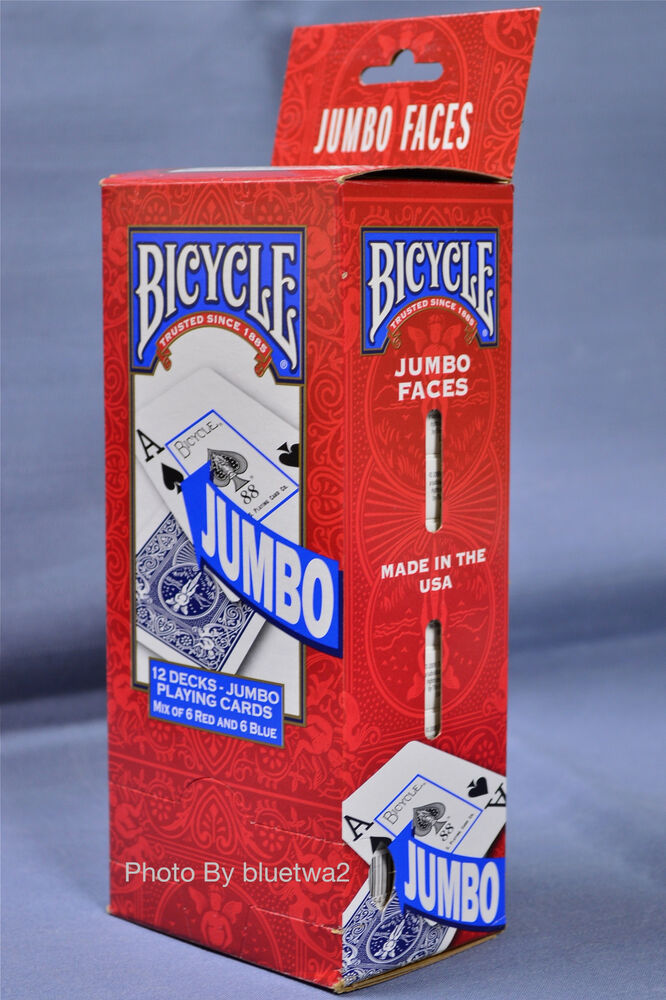 Bicycle poker 808 red