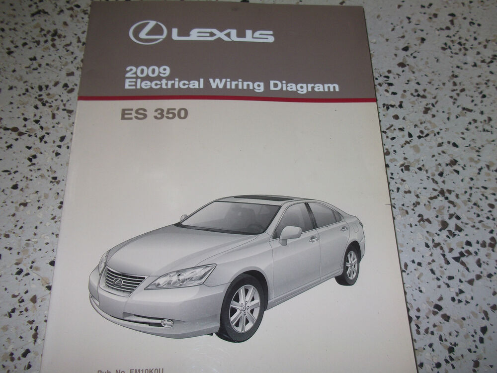 2009 Lexus Es350 Es 350 Electrical Wiring Diagram Service
