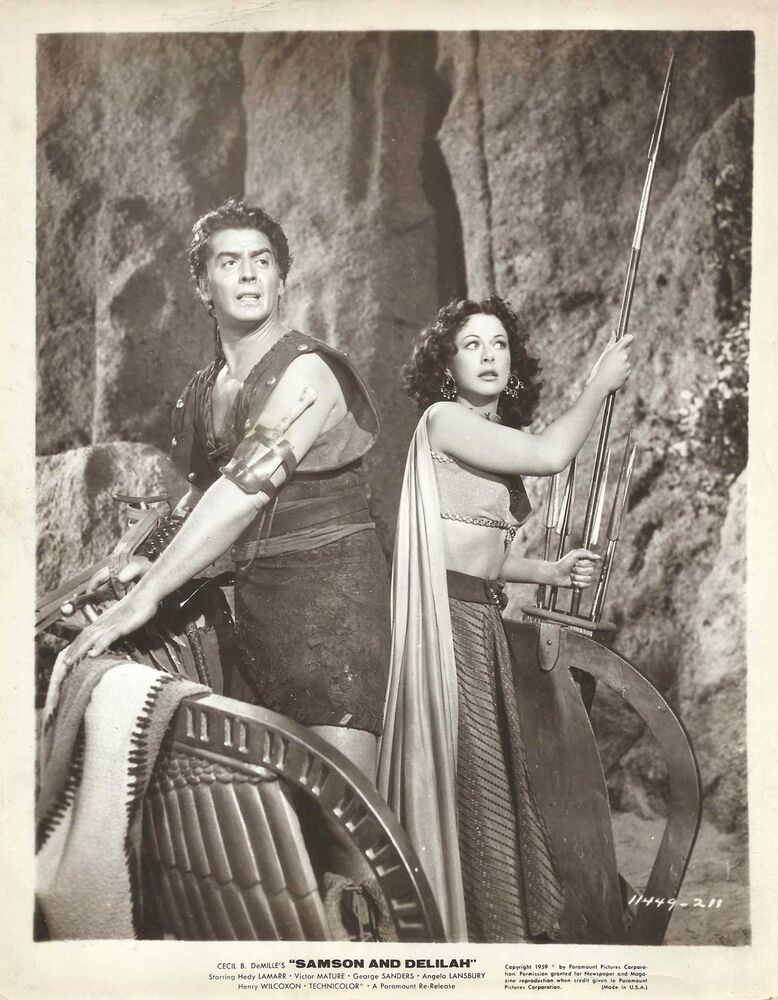hedy lamarr amp victor mature in quotsamson and delilah