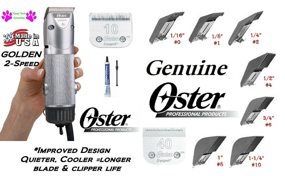 oster golden a5 how to change blades