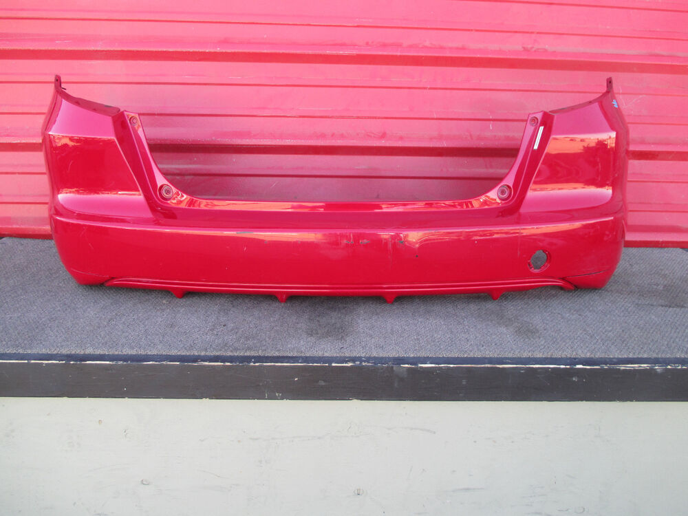 2013 Honda Fit Rear Bumper Cover Oem 2009 2010 2011 2012