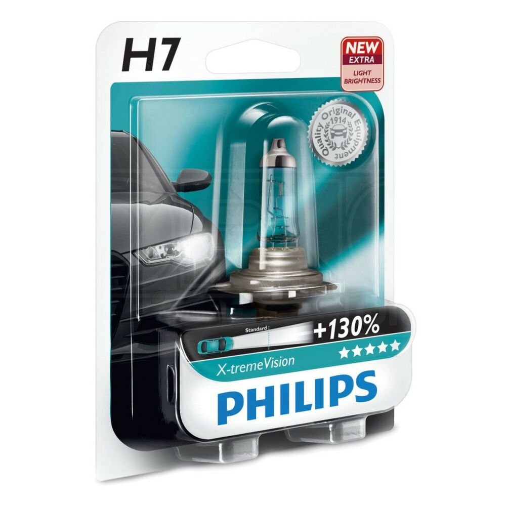 philips x treme vision 130 h7 upgrade head light lamp. Black Bedroom Furniture Sets. Home Design Ideas