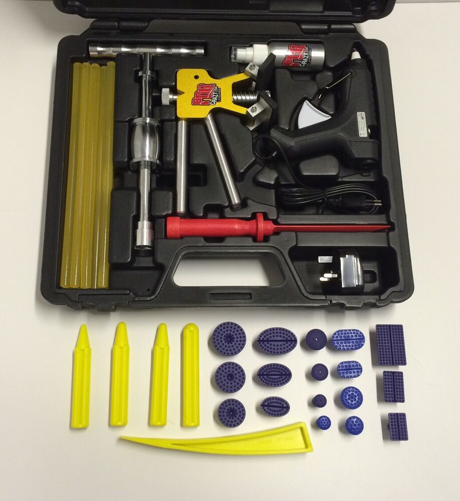 Professional glue pulling dent kit cg pdr tools for Firma profesional kit