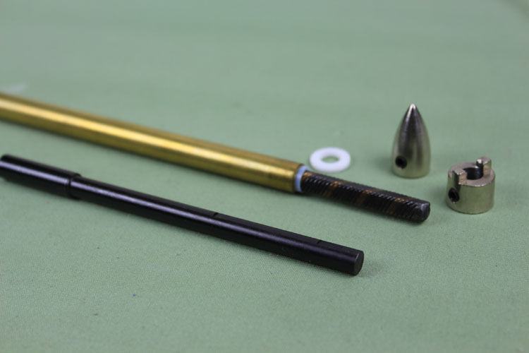 Flex Drive Cables : Quot mm flex shaft cable drive dog prop nut and brass