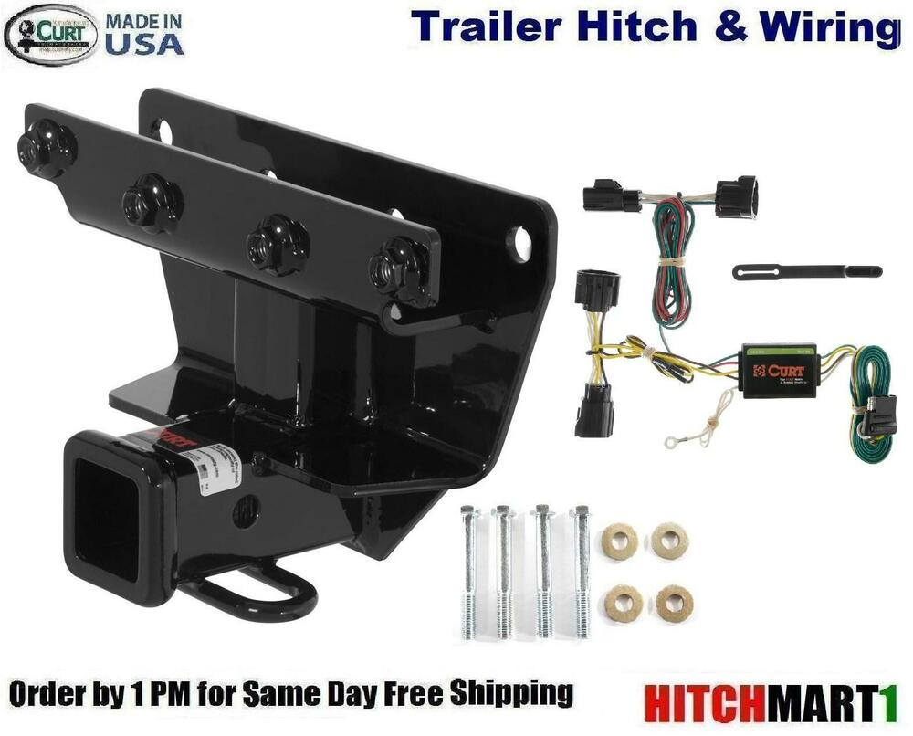 curt trailer hitch wiring for 2006 2010 jeep commander. Black Bedroom Furniture Sets. Home Design Ideas