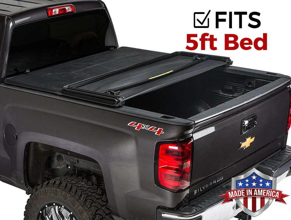 gator tri fold tonneau cover chevy gmc canyon colorado. Black Bedroom Furniture Sets. Home Design Ideas