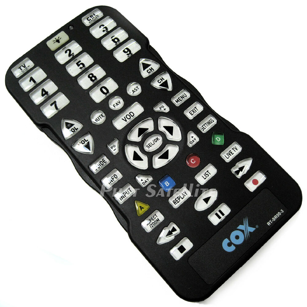 COX CABLE NETWORK TV AUDIO LARGE KEY MULTI-DEVICE JUMBO