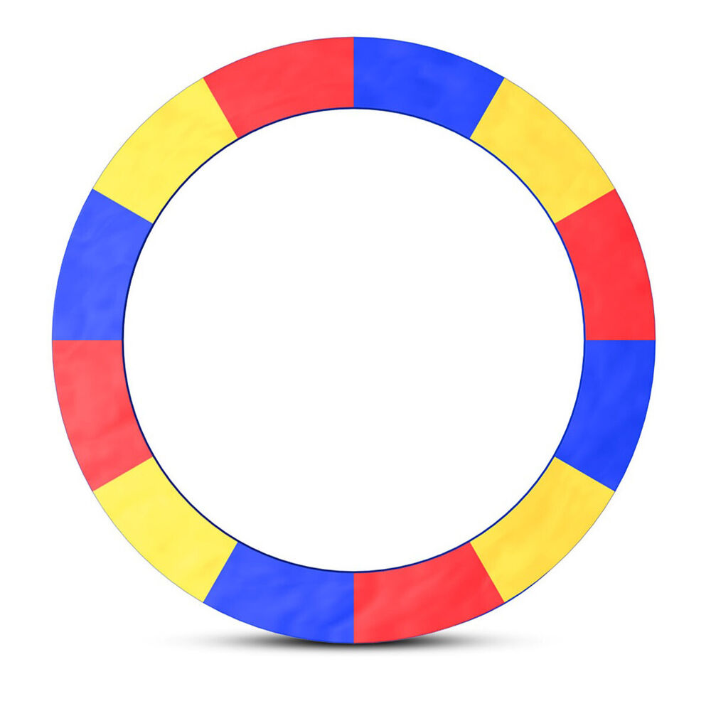14 Ft Trampoline Safety Pad Epe Foam Spring: Multi Color 15 FT Trampoline Safety Pad EPE Foam Spring