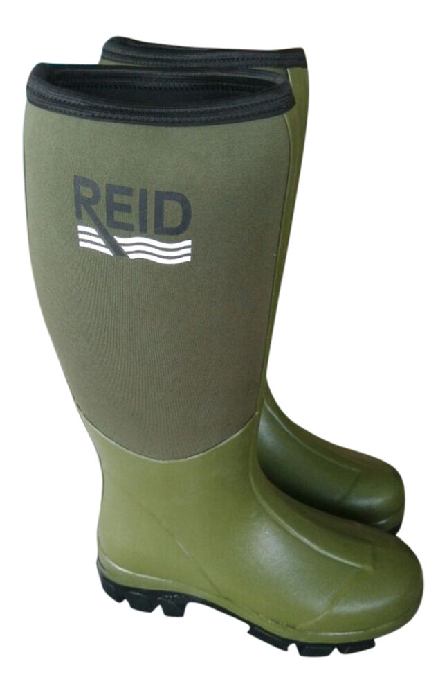 New high grip neoprene waterproof wellington muck field for Waterproof fishing boots