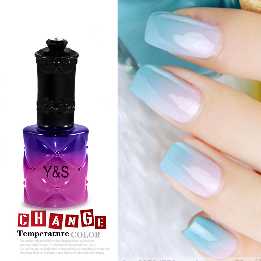 Nail Polish Tips: 15ML Pro Y&S Temperature Change Color Gel Nail Polish Soak