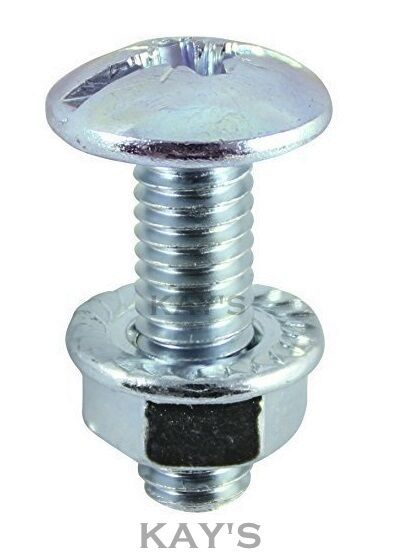Cable Tray Roofing Bolts Serrated Flange Nuts Pozi Combo
