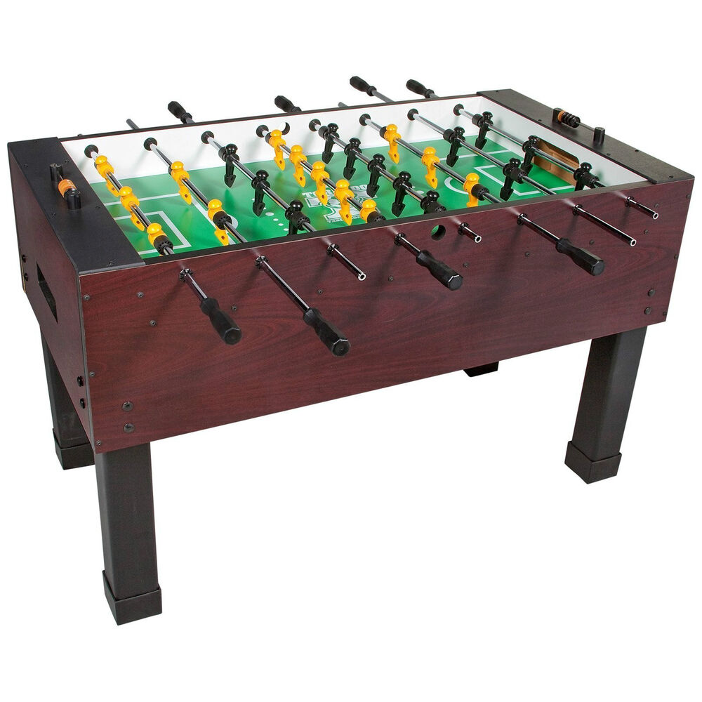 Tornado sport foosball table soccer regulation size game for Regulation 85 table a
