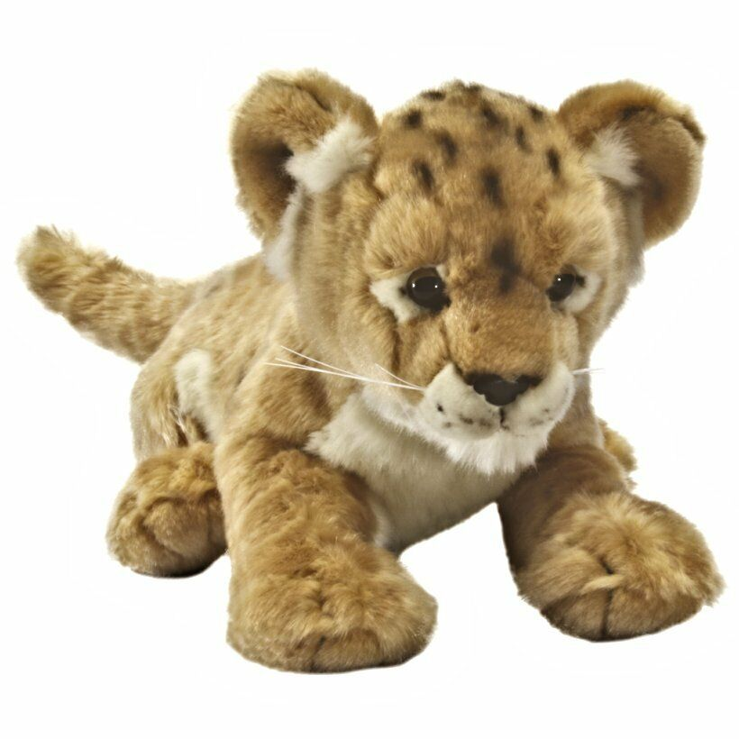 40cm Lion Cub Soft Toy Cuddly Toy Animal 0 Years