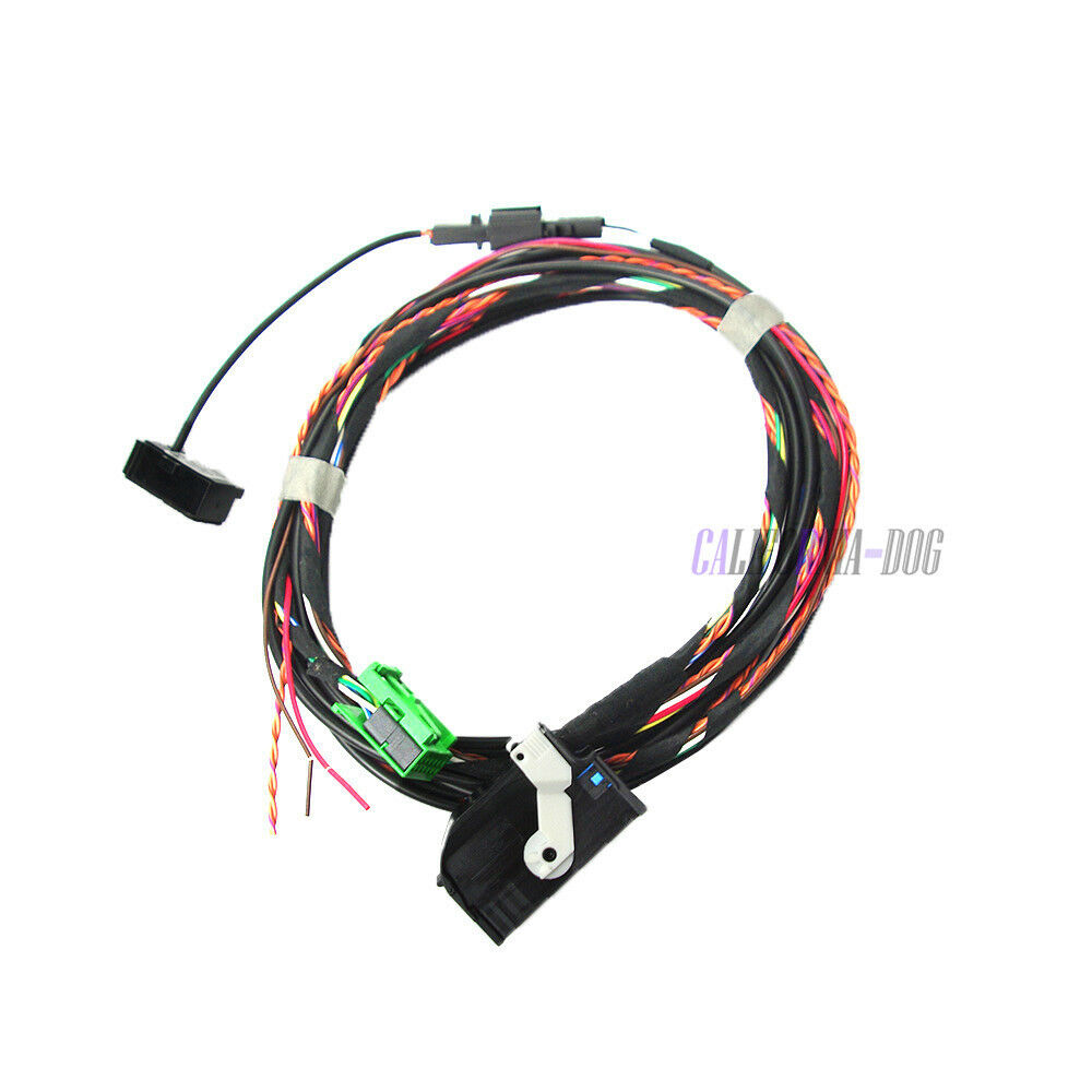 Yixinyou Bluetooth Module Wireless Microphone Wire Harness: Bluetooth Wiring Harness + Microphone Set For VW RCD510