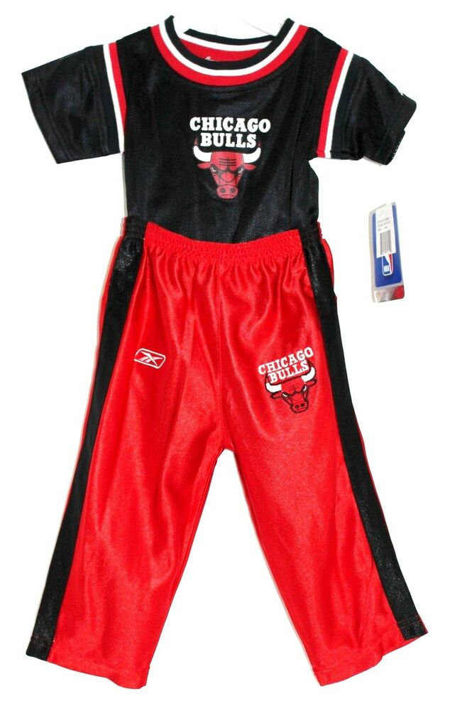 NBA CHICAGO BULLS Infant esie Bodysuit Pants REEBOK