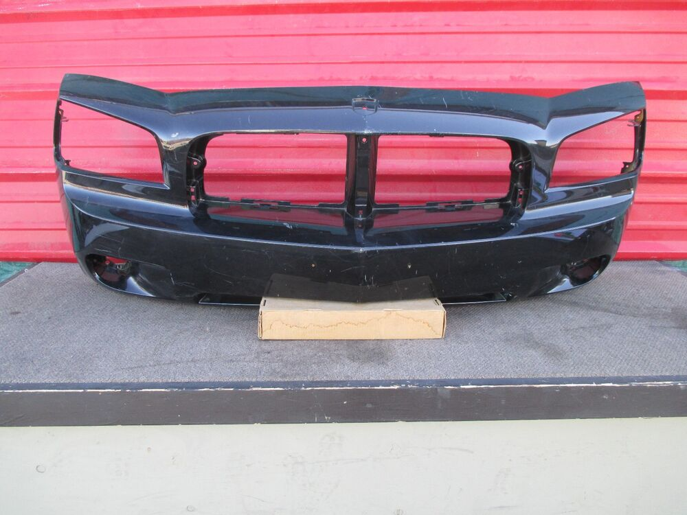 Dodge Charger Front Bumper Cover Oem 2006 2007 2008 2009