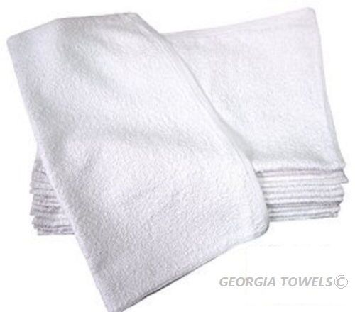 White Terry Kitchen Towels