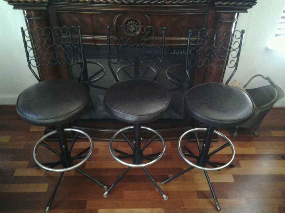 Vintage Stools Made In Philadelphia Adjustable Art Deco