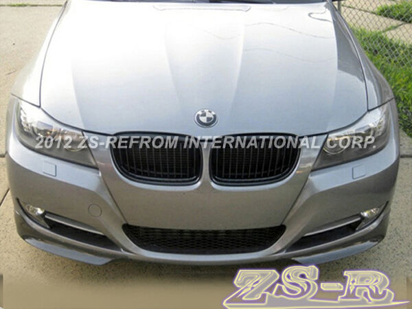 painted front bumper splitter lip for 09 11 bmw e90 lci. Black Bedroom Furniture Sets. Home Design Ideas