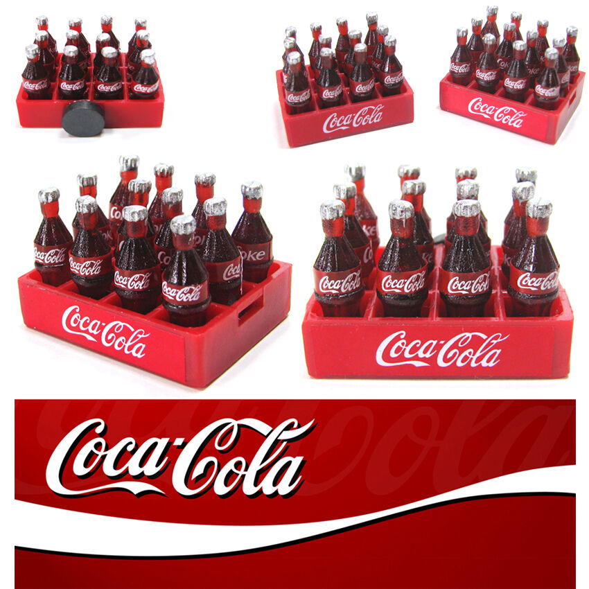 Http Www Ebay Com Itm Coca Cola 3d Miniature Cute Magnets Dollhouse Souvenir Coke Home Kitchen Decor 161512300924