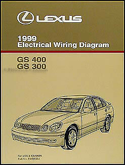 1999 Lexus    GS    300 400    Wiring       Diagram    Manual NEW GS300 GS400 Original Electrical   eBay