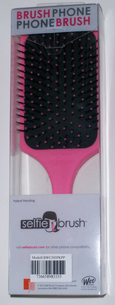wet iphone 5 the brush hair detangling selfie phone brush for apple 13290