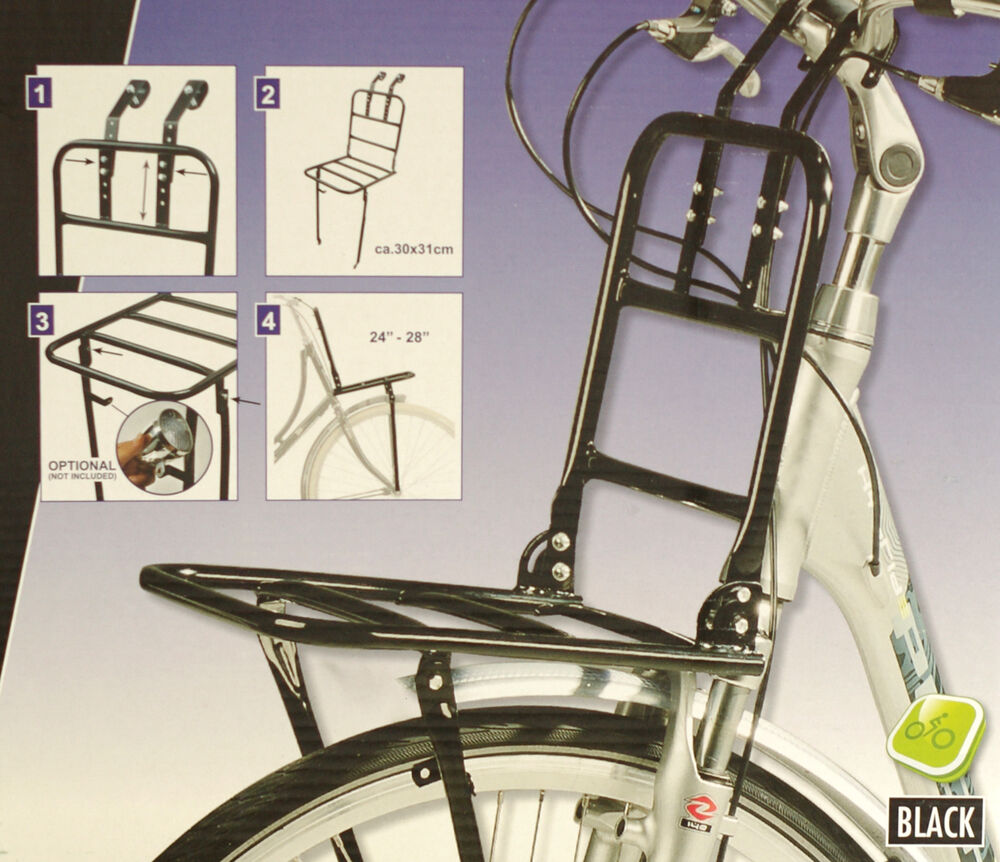Bicycle Rack Front Mounted Universal Bike Carrier Rack