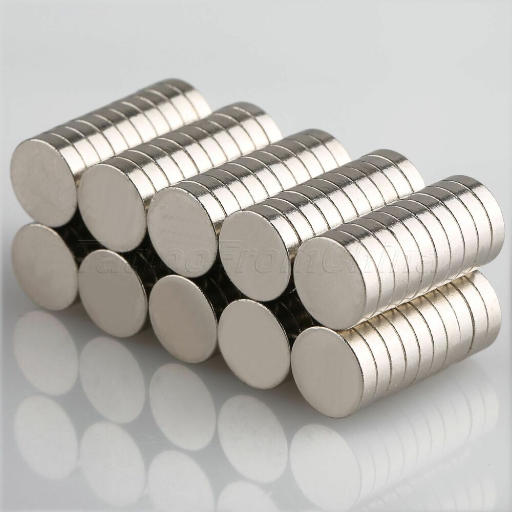 100pcs n35 round strong magnets disk 8x2mm fridge rare for Small round magnets crafts