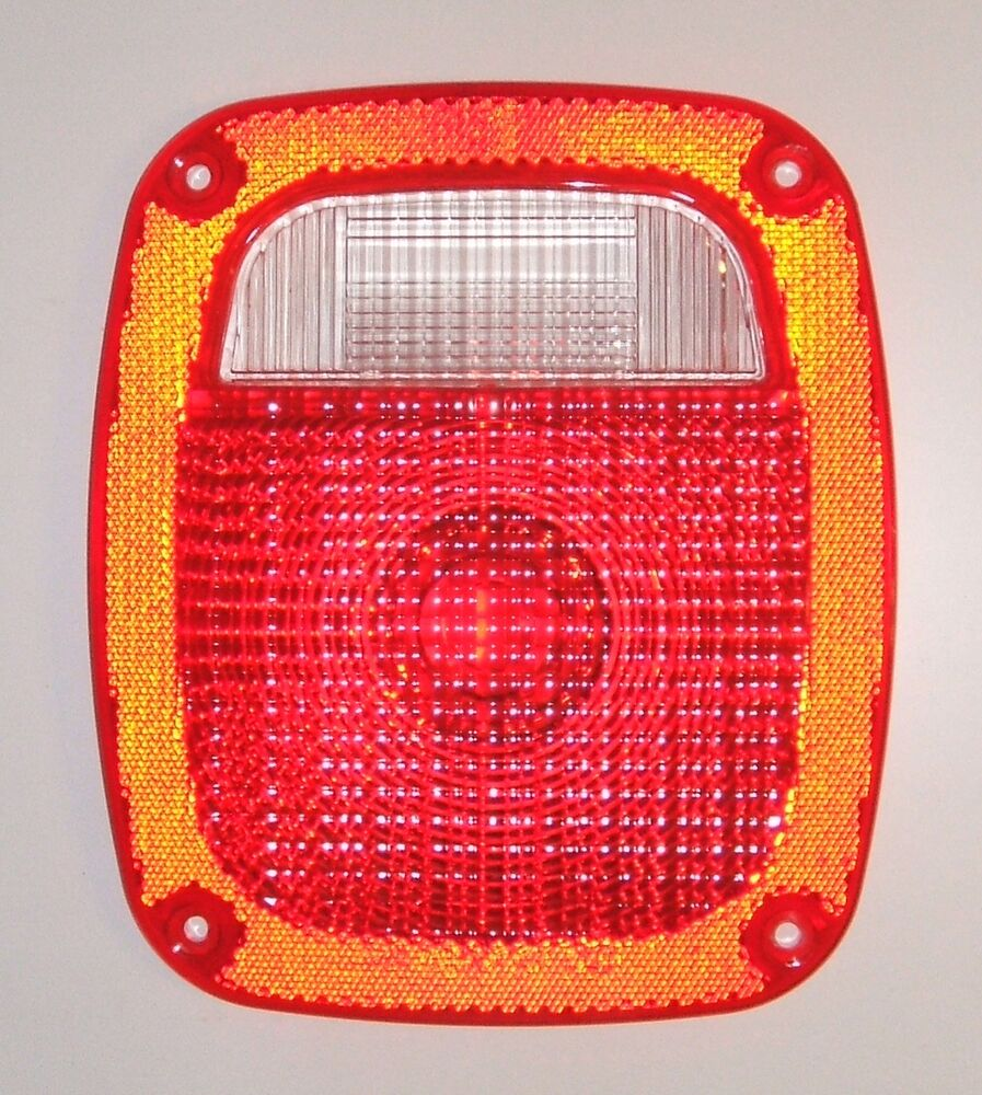 Newer Vehicle Tail Light Lenses : Truck tail light taillight red lens new fast shipping ford