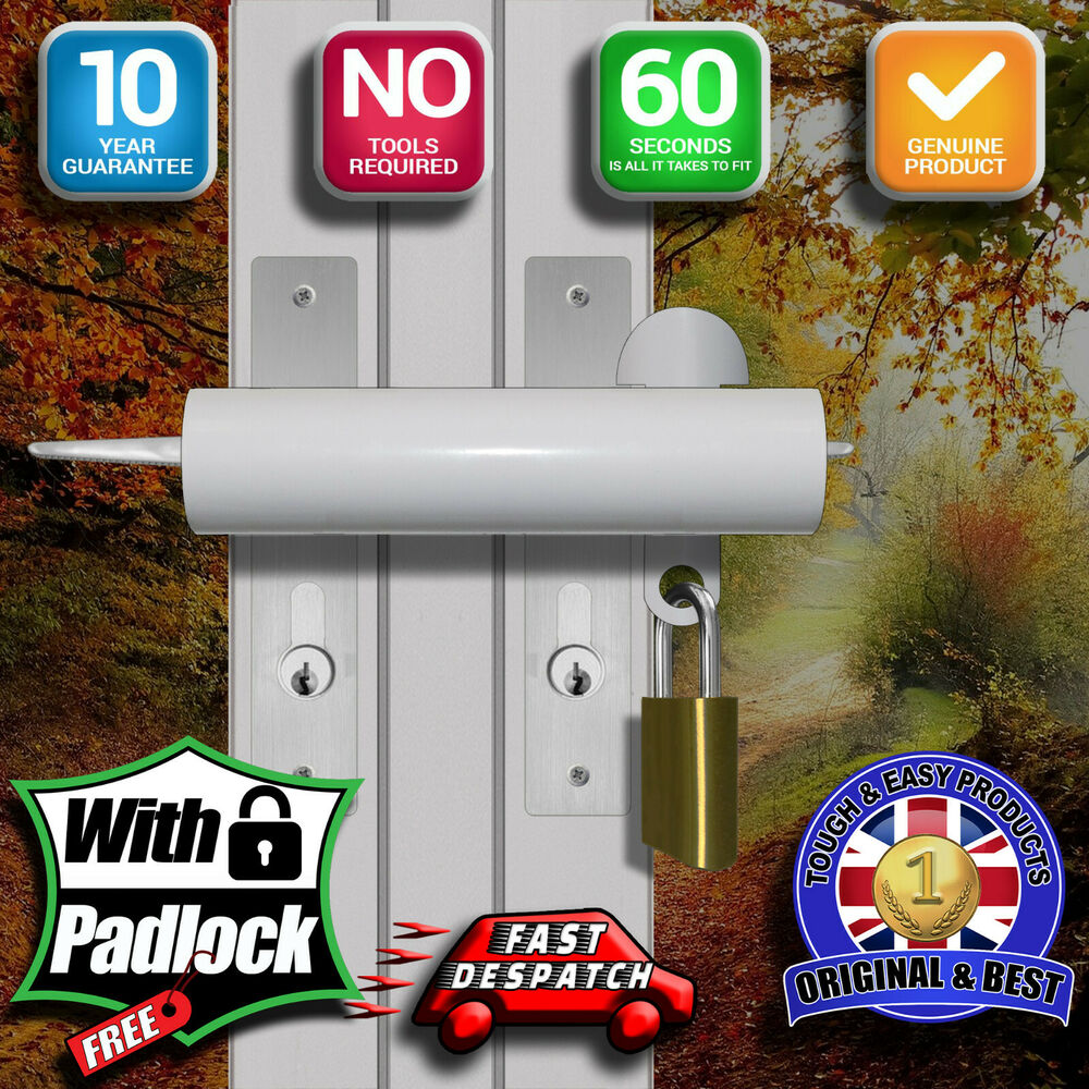 Patio French Door Dead Lock High Security 10 Year Warranty