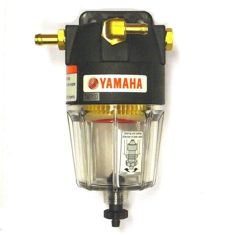 Racor Fuel Filter >> Yamaha Water Separating Fuel Filter - Up to 300hp - Marine - Outboard Motor 10/8 | eBay