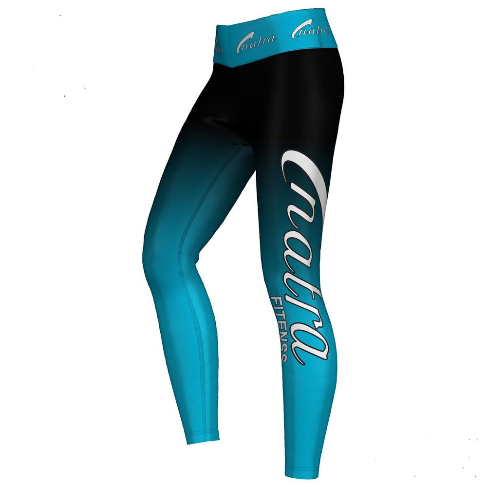 natra fitness sublimation leggings sport training hose lycra atmungsaktiv blau ebay. Black Bedroom Furniture Sets. Home Design Ideas