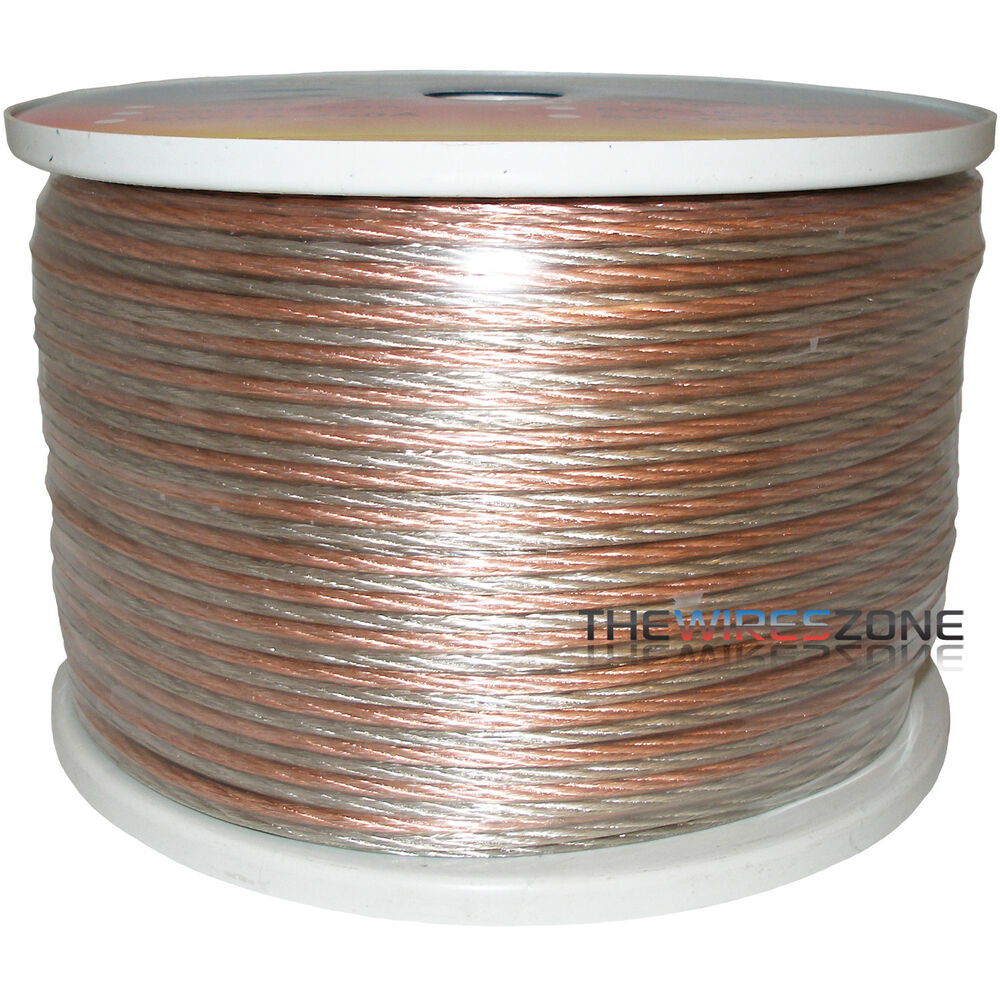 High Quality Speaker Wire : Gauge feet high quality speaker wire cable home or