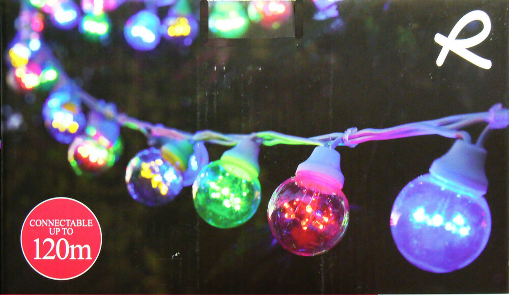 Festoon Party String Lights : 20 Piece Coloured LED Festoon Party String Light Kit - Connectable eBay