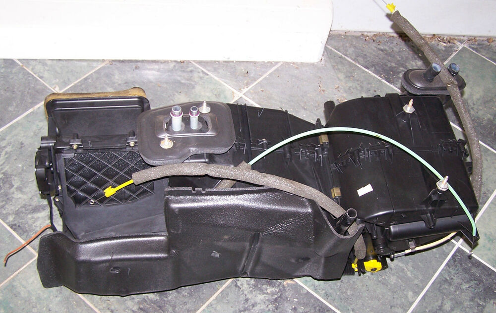 Vw Beetle Heater Control Levers : Vw beetle complete heater box assembly with controls