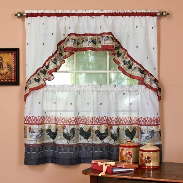Kitchen Cafe Curtains. Super Simple Diy Cafe Curtains. Kitchen Caf ...