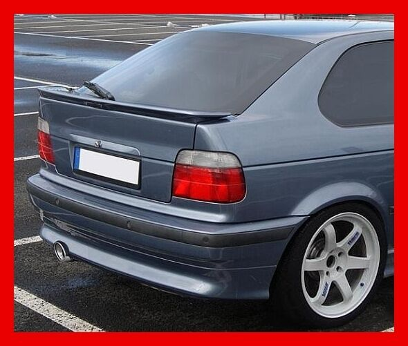 bmw 3 e36 e 36 compact rear boot spoiler tuning gt ebay. Black Bedroom Furniture Sets. Home Design Ideas