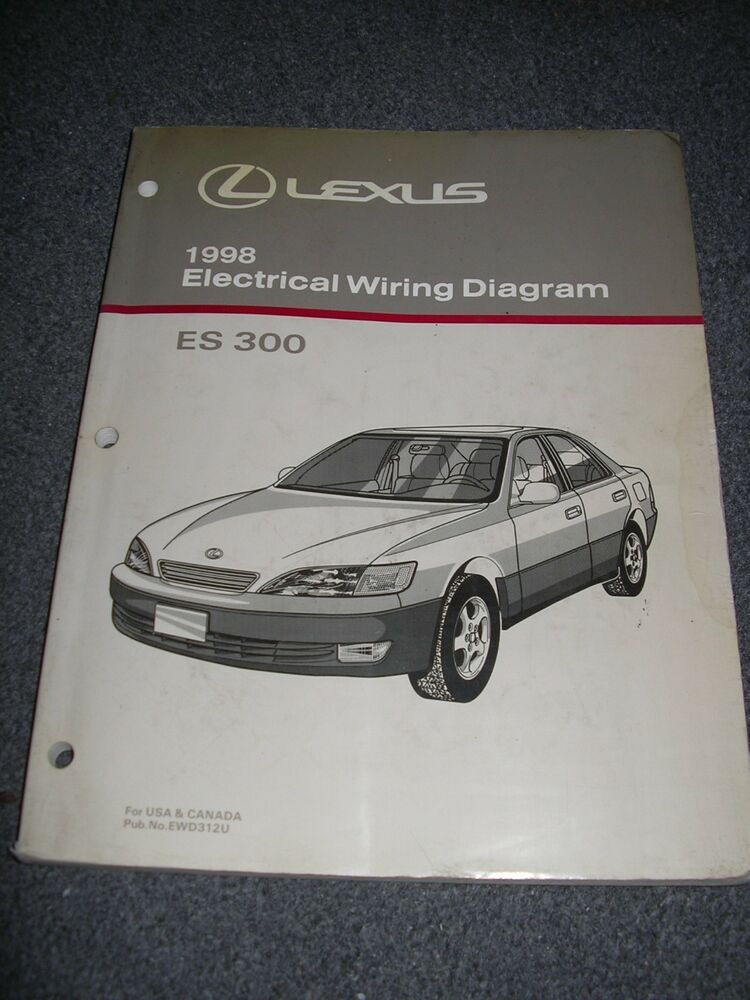 1998 Lexus Es300 Electrical Wiring Diagram Service Manual