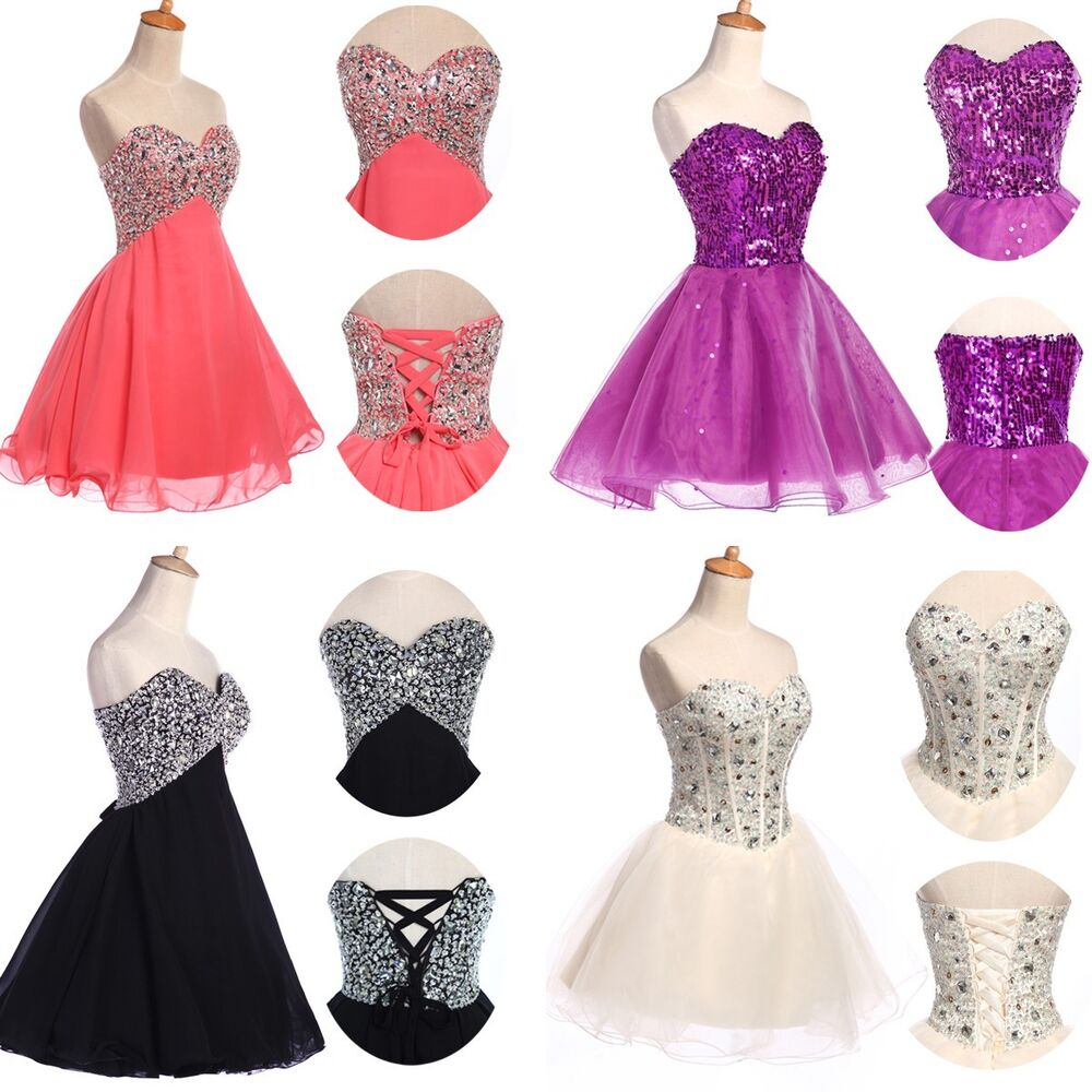 MINI HOMECOMING Short Prom Dresses Cocktail Ball Evening