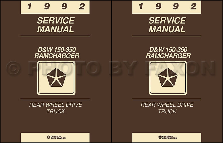service manual how to download repair manuals 1992 dodge. Black Bedroom Furniture Sets. Home Design Ideas