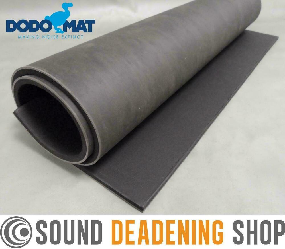 Dodo Pro Barrier Mlv Mass Loaded Vinyl 8mm Car Vehicle Sound Deadening Proofing Ebay