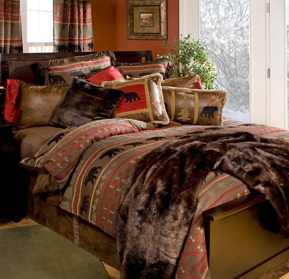 Bear Country Bedding Collections Rustic Cabin Free