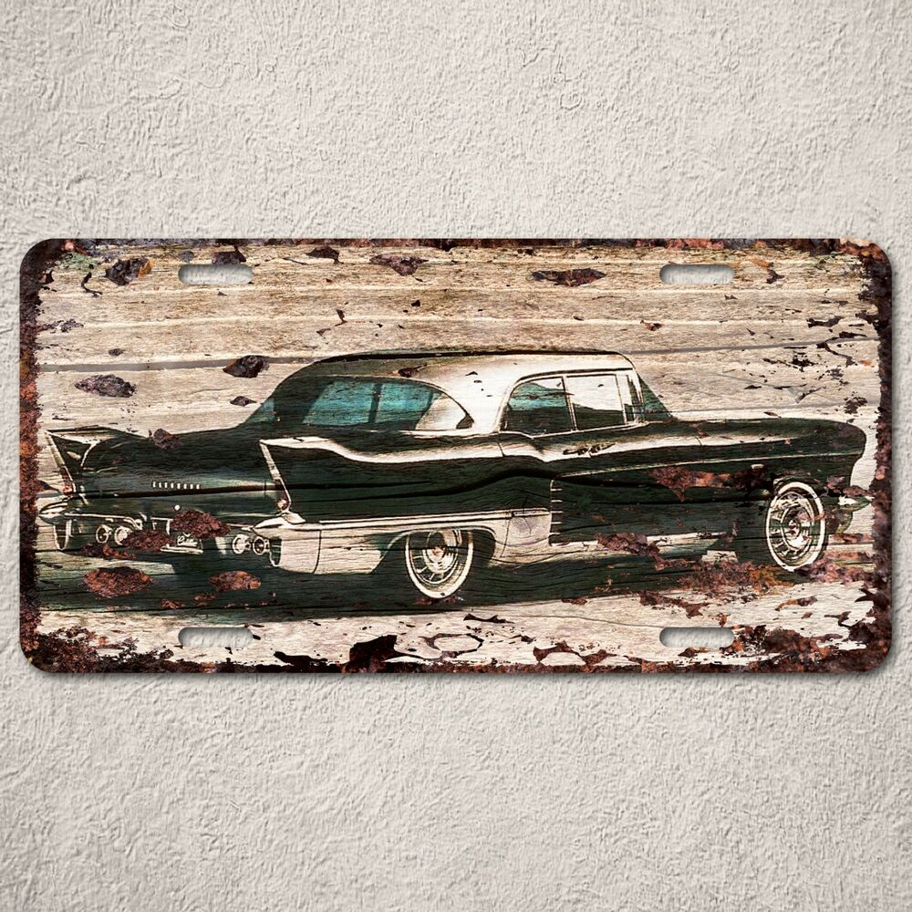 lp0138 vintage old classic car sign auto car license plate rust home decor ebay. Black Bedroom Furniture Sets. Home Design Ideas