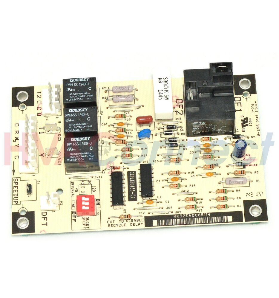 carrier bryant payne defrost circuit board hk32ea003 ces0130076 00 ebay