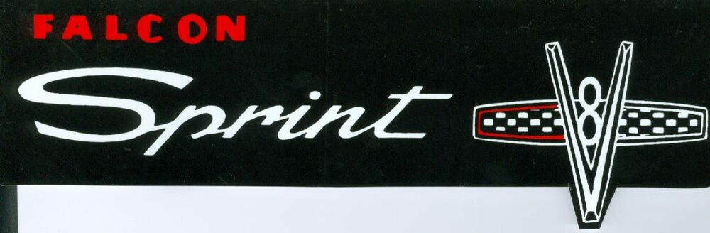 1965 FORD    FALCON       SPRINT    VALVE COVER DECAL   eBay
