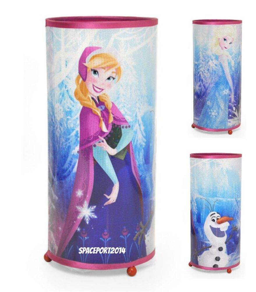 disney frozen movie glitter night light lamp anna elsa 15172 | s l1000