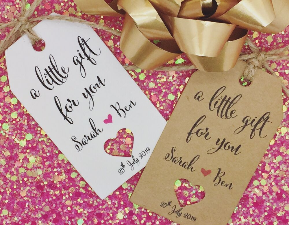 Wedding Favour Gift Tags: Wedding Thank You Tags, Wedding Favour Gift Tags, Guest