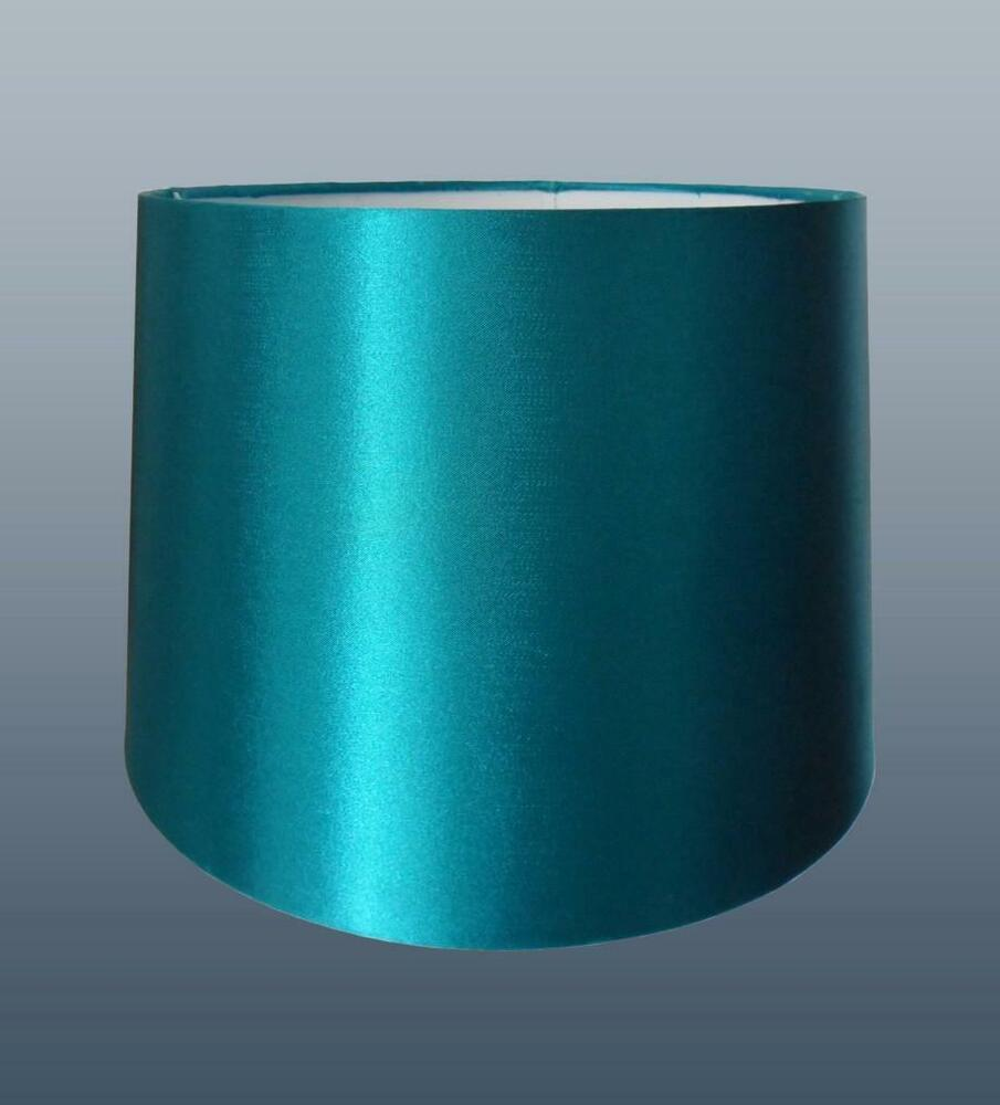 Light Blue Lamp Shade: 8 10 12in Empire Silk Fabric Lampshade Table Lamp Ceiling