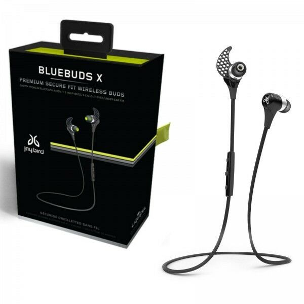jaybird bluebuds x earbud headphones wireless midnight. Black Bedroom Furniture Sets. Home Design Ideas