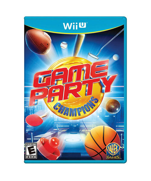 Wii Games List 2012 : Game party champions wii u new sealed
